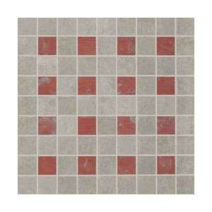 Mosaique Nr.21 Mosaico color grey/red nat