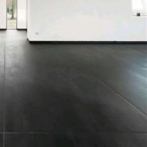 Carrelage gigacer concrete graphite noir 120 x 120 vente for Carrelage 120x60
