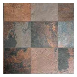 Carrelage mirage ardesie african stone nat ret marron 30 x for Carrelage stone