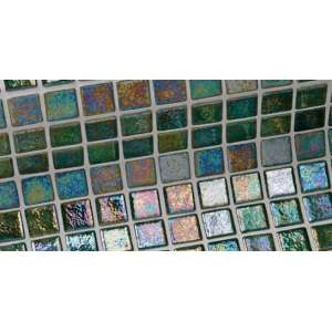 Mosaique Iris Green pearl