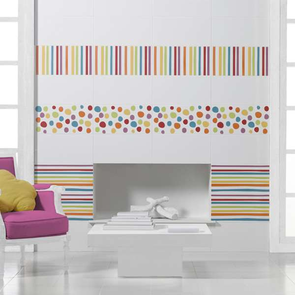 faience pamesa agatha ruiz de la prada blanco blanc 50 x. Black Bedroom Furniture Sets. Home Design Ideas