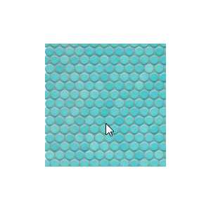 Mosaique Loop Bleu aqua brillant