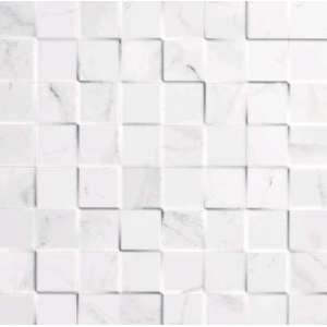 Mosaique Marmol carrara blanco