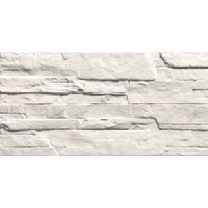 Faience Pave wall dolmen Bianco