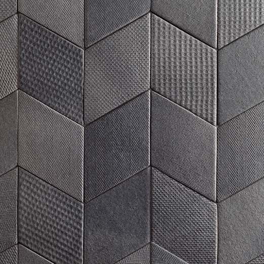 carrelage mutina tex black noir 20 x 12 vente en ligne de carrelage pas cher a prix discount. Black Bedroom Furniture Sets. Home Design Ideas