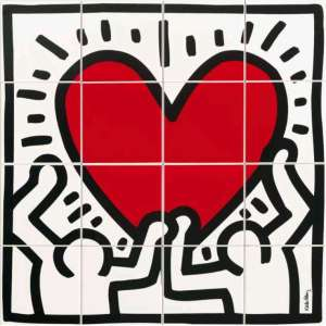 Catalogue for Carrelage keith haring