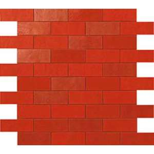 Mosaique Ewall Red minibrick ret