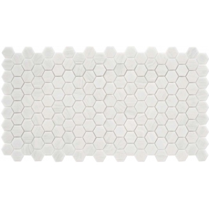 mosaique trend hexagonal hex 280 bianco assoluto blanc 35 x 33 vente en ligne de carrelage pas. Black Bedroom Furniture Sets. Home Design Ideas