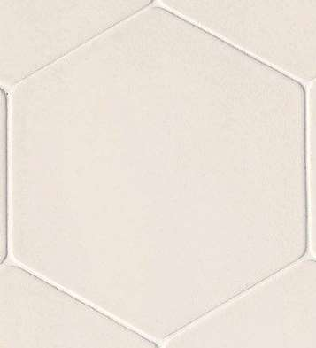 Carrelage mutina phenomenon hexagon bianco blanc 17 x 15 for Carrelage hexagonal marbre