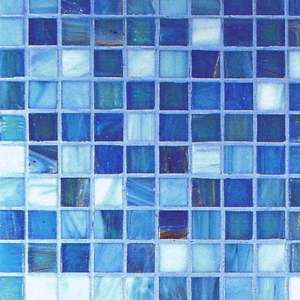 Mosaique Gold bronze G2 azzurro mix