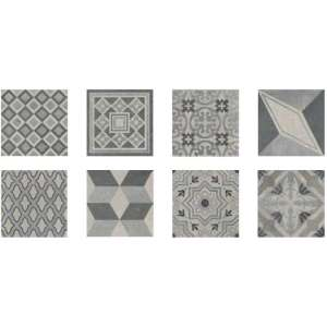 Carrelage Square Pattern mix f rett
