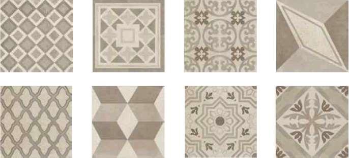 carrelage italgraniti group square pattern mix c rett beige 20 x 20 vente en ligne de. Black Bedroom Furniture Sets. Home Design Ideas