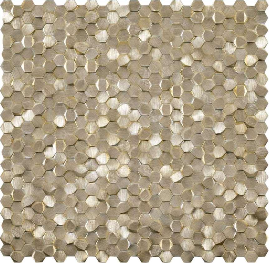 Mosaique Porcelanosa Antic colonial Gravity mosaics Alu 3d ...