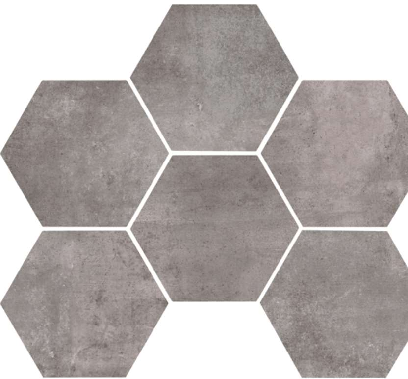 carrelage marazzi clays hexagon lava nat gris 21 x 18 vente en ligne de carrelage pas cher a. Black Bedroom Furniture Sets. Home Design Ideas