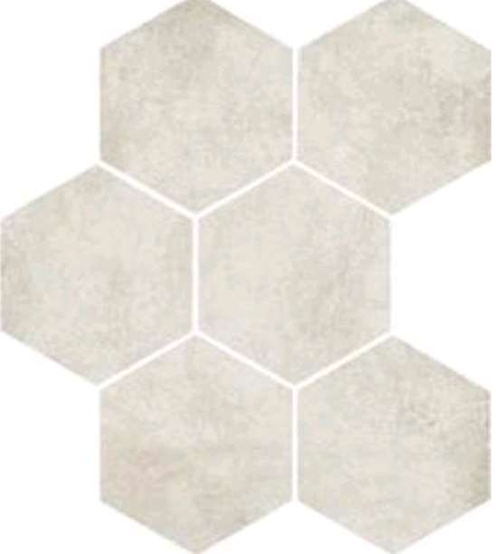 Carrelage marazzi clays hexagon cotton nat beige 21 x 18 for Carrelage marazzi prix