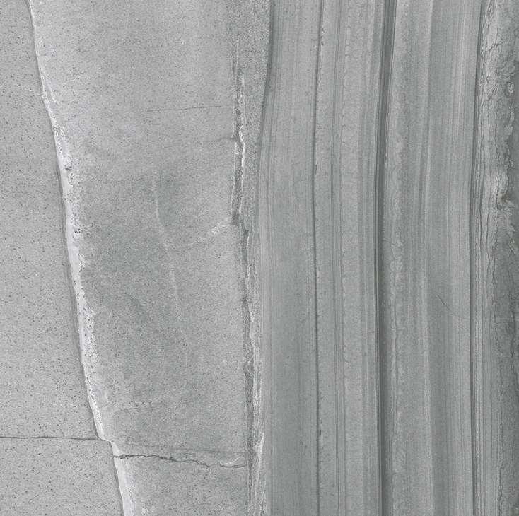 Carrelage fanal ceramicas velvet gris rett nplus 59 x 59 for Carrelage gris metallise