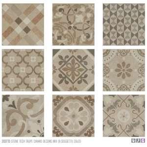 Eléments de finition et décors Stone tech Decor mix taupe chiaro ed9a3f0d2b0