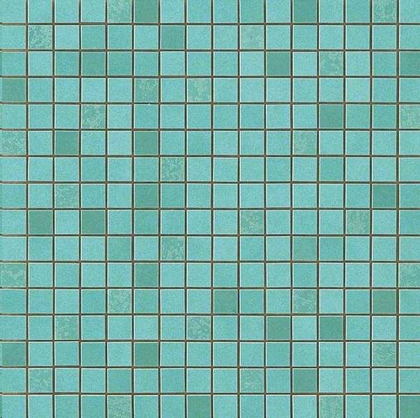Mosaique Atlas concorde Dwell Mosaico q turquoise Bleu 31 x 31 ...