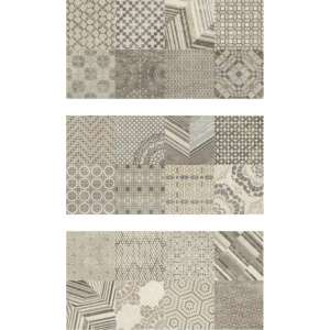 Carrelage The one Inserto azulejos avorio 1/2/3