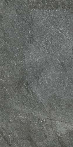 Carrelage ermes aurelia quartz stone black grip noir 60 for Carrelage quartzite