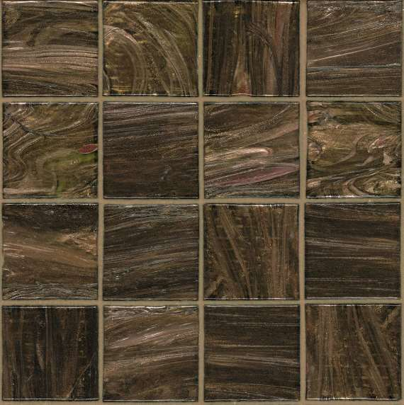 Mosaique bisazza mosaico colorsb 5x5 bronze marron 5 x 5 for Carrelage 5x5 bleu