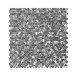 Mosaique Gravity mosaics Alu 3d hexagon metal