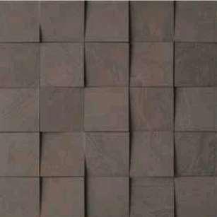 Carrelage italgraniti group spatula mosaico mix 3d tabacco for Mosaico group