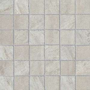 Mosaique Quartz stone Mosaico grey satin