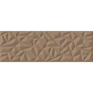 Faience porcelanosa venis prisma bronze marron 100 x 33 for Carrelage prisma