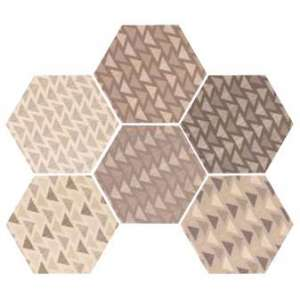 Carrelage Hexalite Decor lovely colour