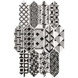 Carrelage Kite Patchwork b&w
