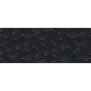Faience Monochrome magic Decor noir mat.