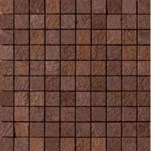Mosaique Mineral chrom Mosaico brown 3x3