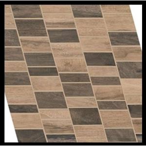 mosaique ergon woodtalk mosaico dyago beige brown marron 30 x 29 vente en ligne de carrelage. Black Bedroom Furniture Sets. Home Design Ideas