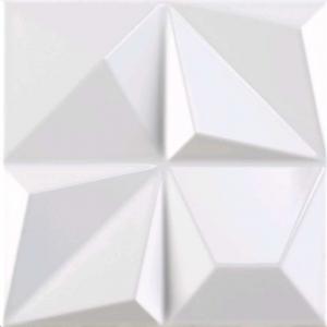 Faience Dune Megalos Multishapes White Gloss Blanc 25 X 25 Vente En Ligne De Carrelage Pas Cher A Prix Discount Caro Centre