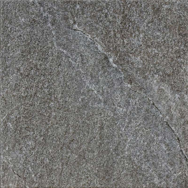 Carrelage caesar roxstones dark quartz grip rett gris 45 for Carrelage quartzite