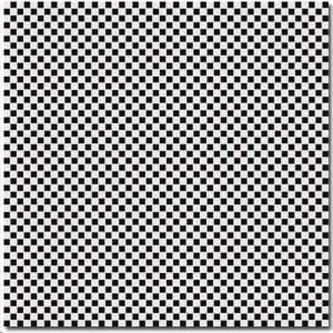 Carrelage Tagina Deco Dantan Petite MosaÏque Noir Blanc X - Carrelage d'antan