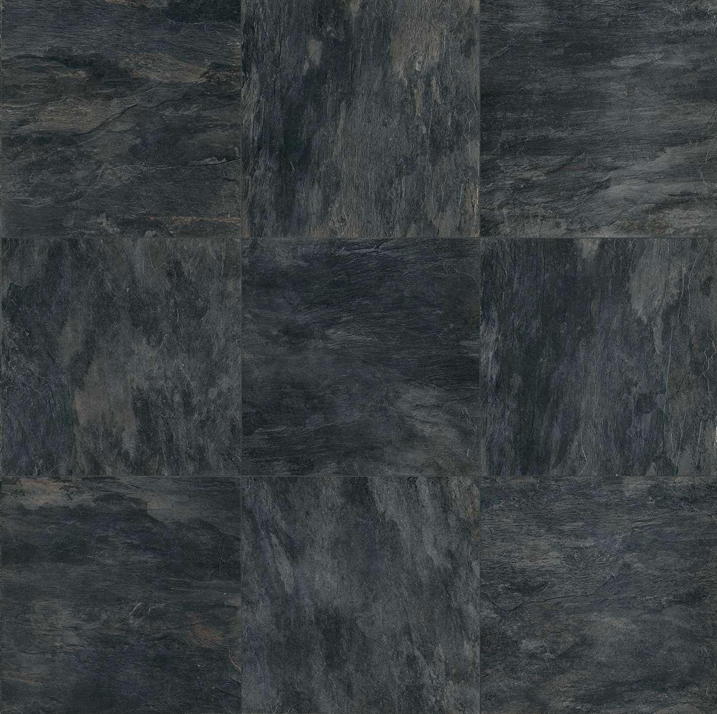 Carrelage rex ceramiche ardoise noir mat ret 80 x 20 for Carrelage ardoise noir