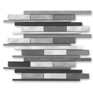 Carrelage New york Metal grey mix