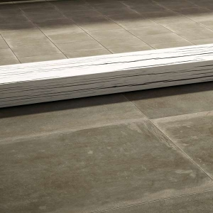 carrelage iris ceramica terre cenere grip ret gris 60 x 60. Black Bedroom Furniture Sets. Home Design Ideas