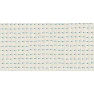 Carrelage Pico Blue dots blanc