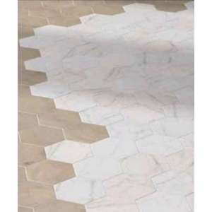 Carrelage Carrara Hexagon