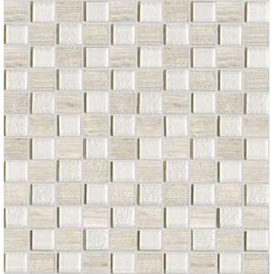 Mosaique Time Texture silver wood