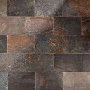 Carrelage Natural slate Multicolor nat