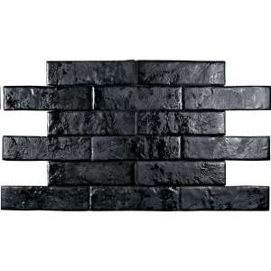 Carrelage Brickwall Nero