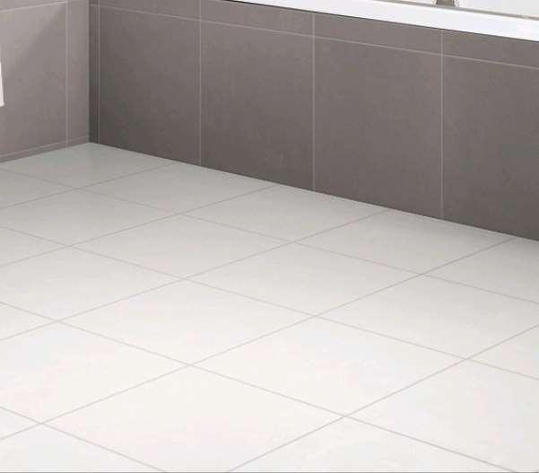 Carrelage keraben living blanco mat ret blanc 41 x 41 for Carrelage keraben