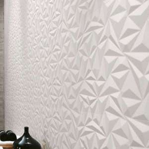 Faience 3d wall design Angle white mat