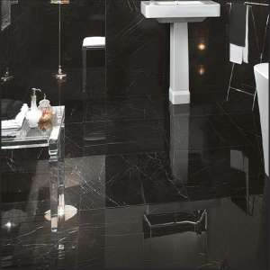 Carrelage Roma diamond Nero reale brillant/ret