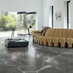 Carrelage Stones & more 2.0 Calacatta black smooth/ret