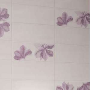 Mosaique Nuance Decor blanc/rose/violet